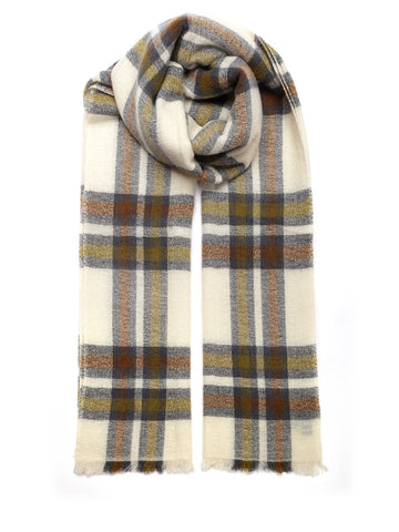 Isabel Marant Suzanne Check Scarf