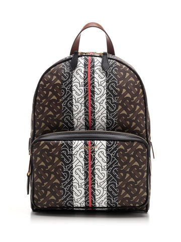 Burberry Monogram Stripe Print Backpack