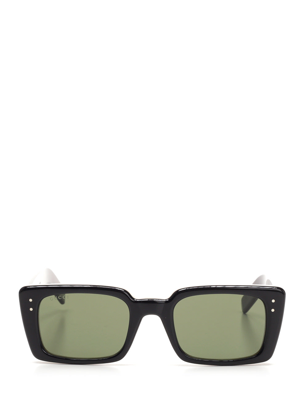Gucci Eyewear Rectangular Sunglasses In Black