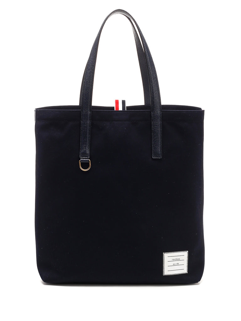 Thom Browne Side Striped Tote Bag