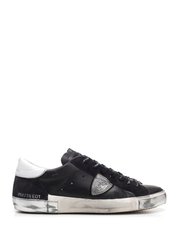 Philippe Model Panelled Low-Top Sneakers