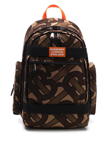Burberry All Over Monogram Print Backpack