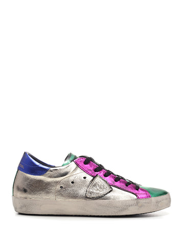 Philippe Model Paris Distressed Sneakers