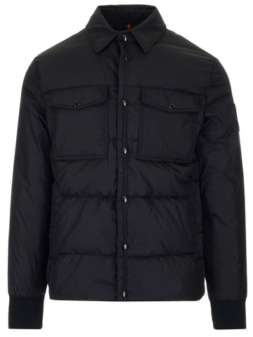 Moncler Collared Down Jacket