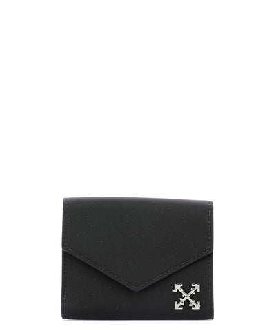 Off-White Small Logo Detail Wallet