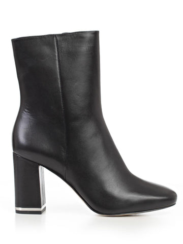 Michael Michael Kors Leather Ankle Boots