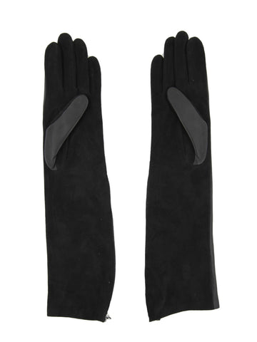Lanvin Long Silk Gloves