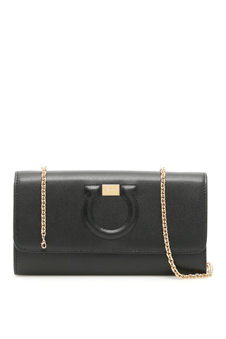 Salvatore Ferragamo Gancini Clutch Bag