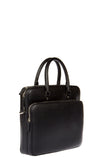 Salvatore Ferragamo Pebble Leather Briefcase