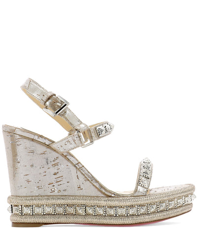 Christian Louboutin Pyradiams 110 Wedge Sandals