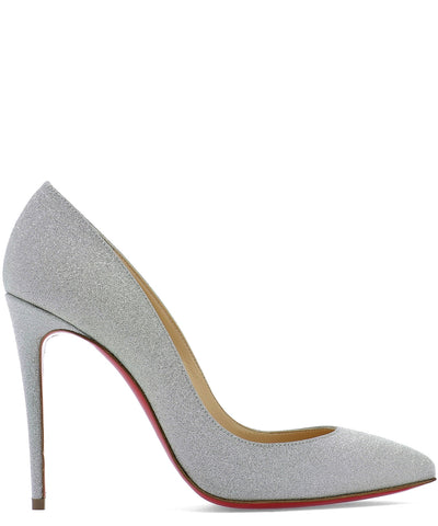 Christian Louboutin Pigalle 100 Glitter Pumps