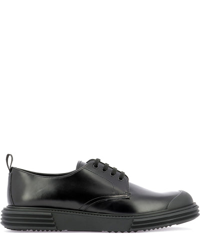 Prada Thick Sole Lace-Up Shoes