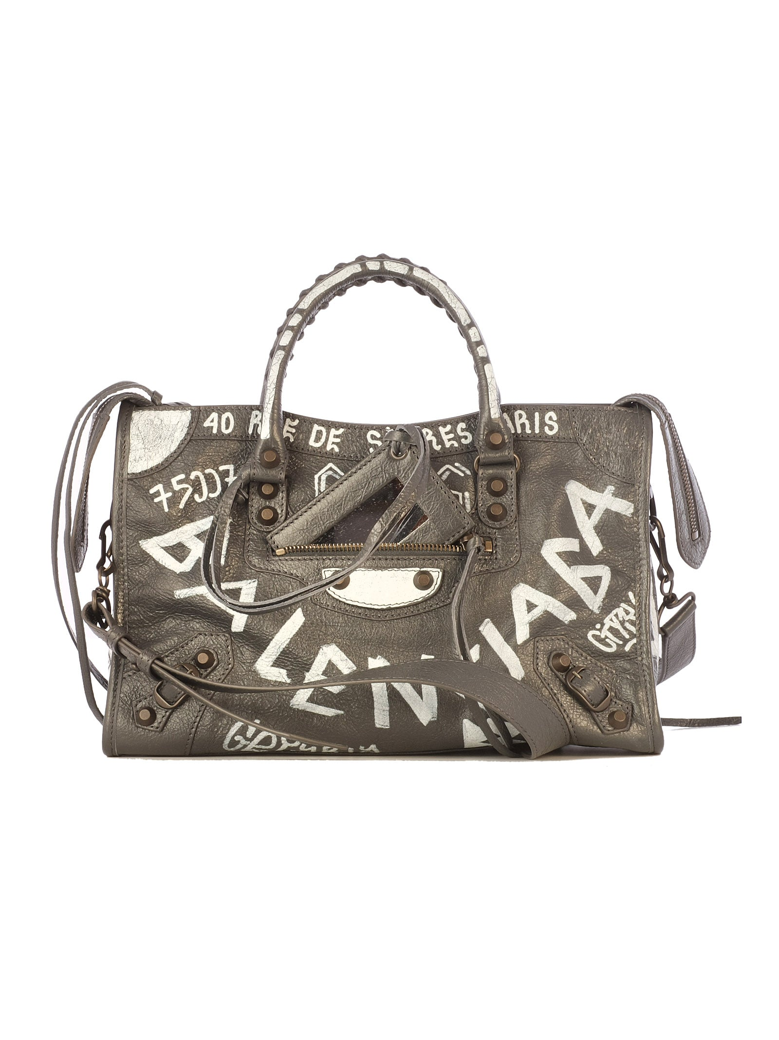 BALENCIAGA GRAFFITI CITY S TOTE