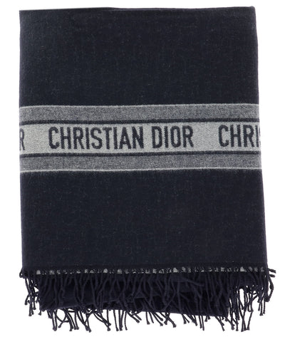 Dior Plaid CD Logo Scarf