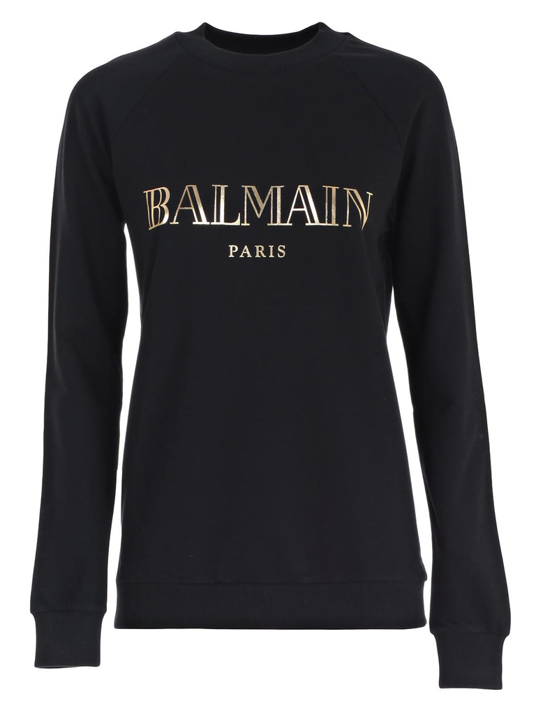 Balmain Logo Printed Sweater