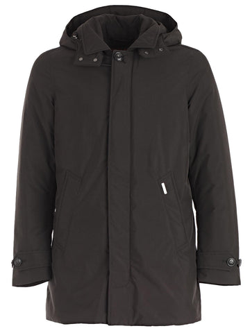Woolrich Zipped Padded Coat