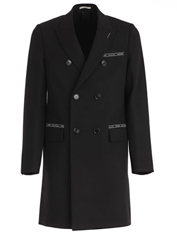 Dior Homme Double Breasted Coat