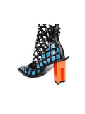 Marques Almeida Lattice Heeled Ankle Boots
