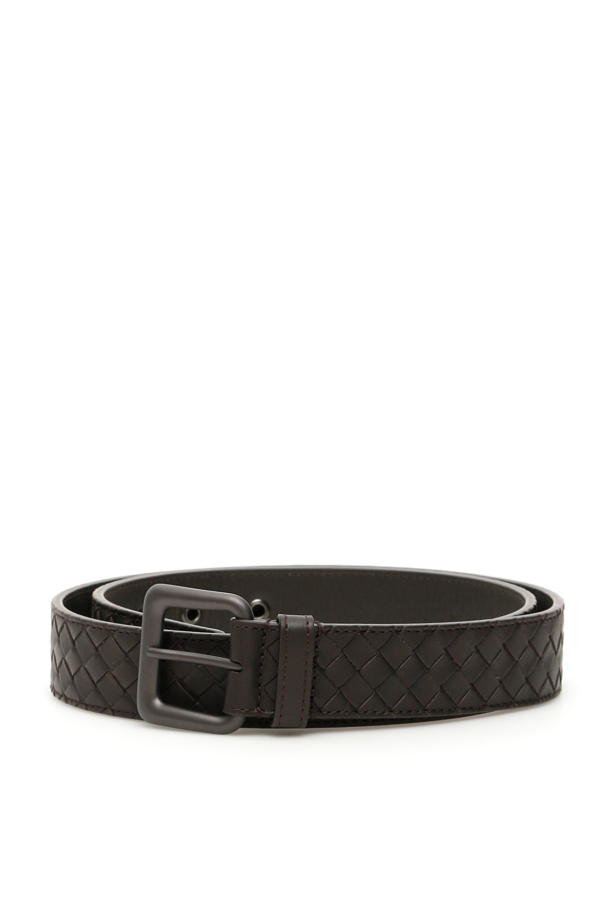 Bottega Veneta Belts BOTTEGA VENETA WOVEN BUCKLE BELT