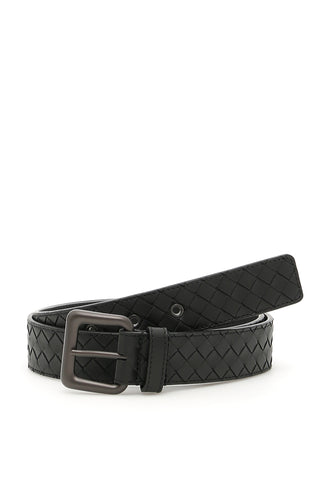 Bottega Veneta Woven Buckle Belt