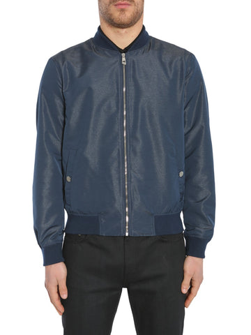Versace Collection Zipped Bomber Jacket