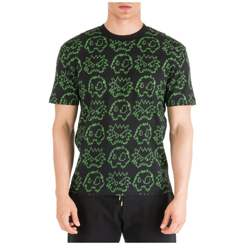 MCQ Alexander McQueen All Over Monster Print T-Shirt