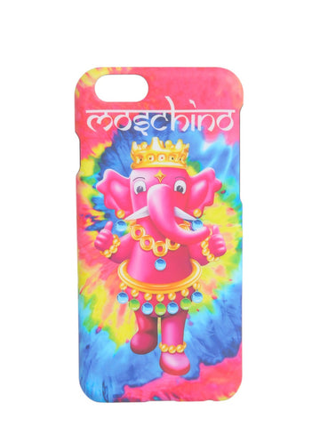 Moschino Elephant Logo Print iPhone 6/6S Case