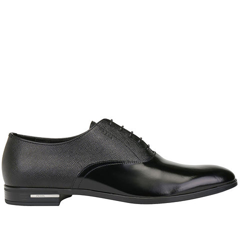 Prada Panelled Oxford Shoes
