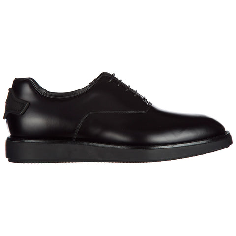 Prada Logo Back Lace-Up Shoes