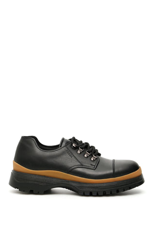 Prada Chunky Lace-Up Shoes