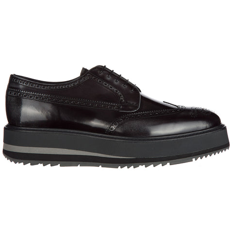 Prada Thick Sole Brogues
