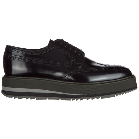 Prada Chunky Sole Lace-Up Shoes