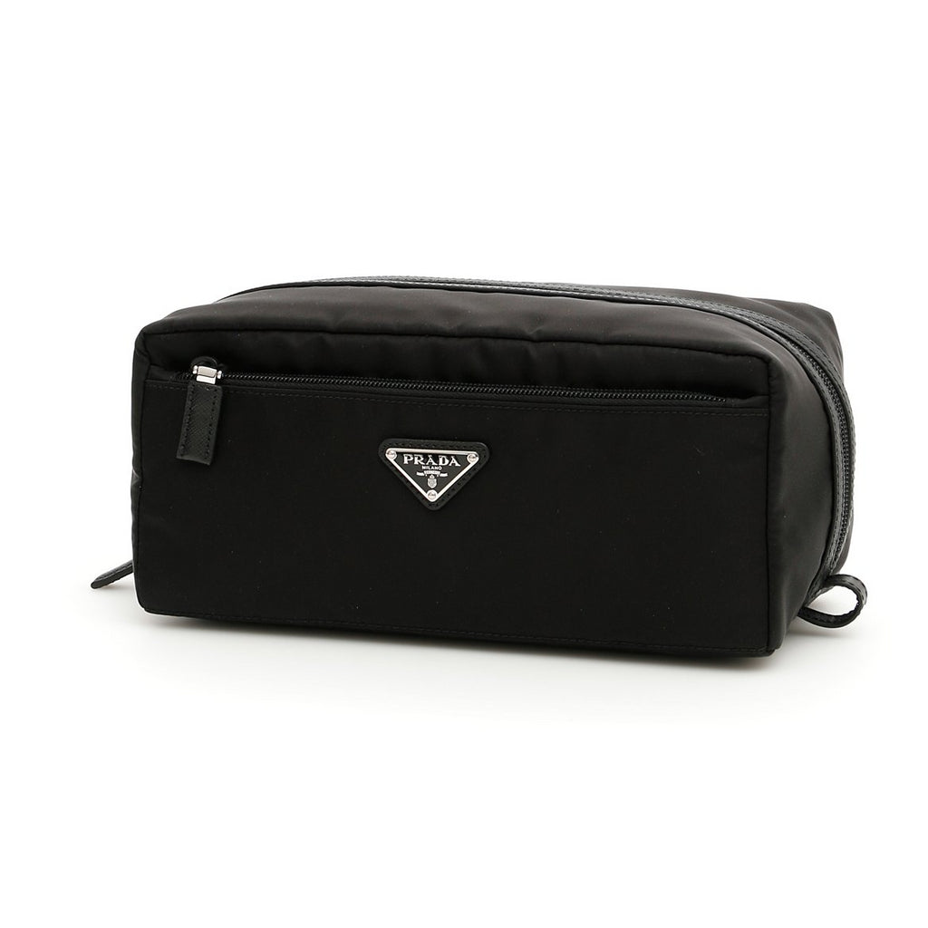 Prada Logo Toiletry Bag