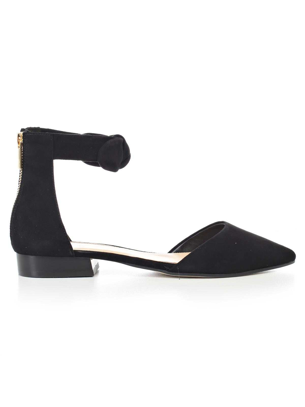 Ladies Rounded Point Toe With Studded Bow Detail Court shoes Black//Navy F9615