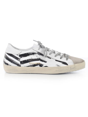 Golden Goose Deluxe Brand Striped Superstar Sneakers