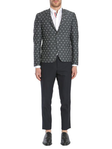 Thom Browne Embroidered Jacket