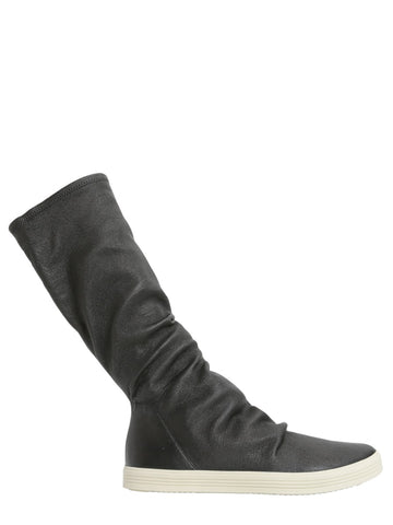 Rick Owens Sneaker-Like Knee-Length Boots