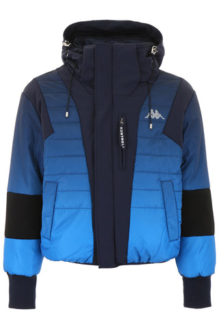 Kappa Kontroll Contrasting Panelled Down Jacket