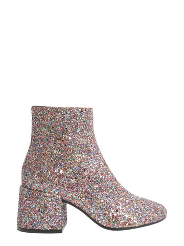 MM6 Maison Margiela Glitter Heel Booties