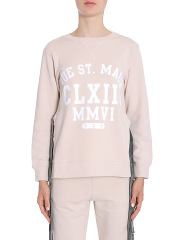 MM6 Maison Margiela Flocked Print Sweatshirt