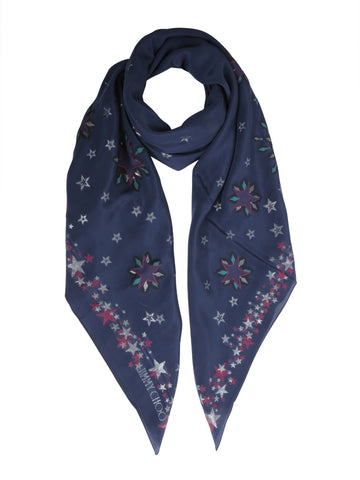 Jimmy Choo Stars All-Over Scarf