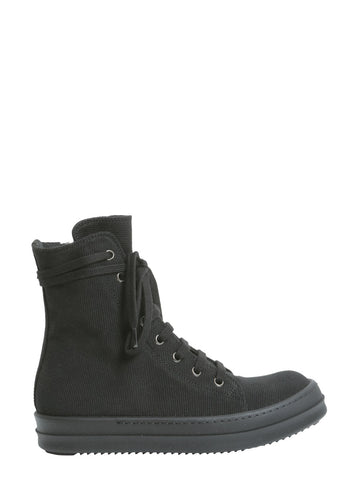 Rick Owens Drkshdw High-Top Lace-Up Sneakers