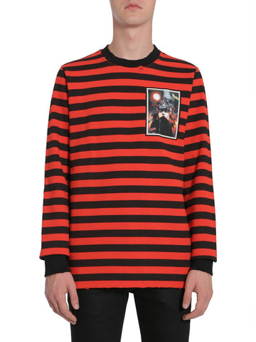 Givenchy Striped Crewneck Sweater