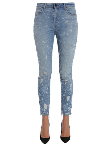 Alexander Wang Whiplash Distressed Jeans