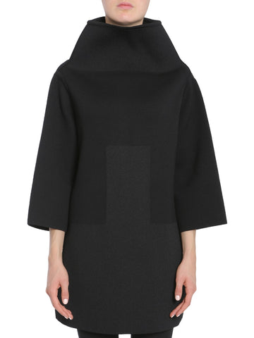 Rick Owens Oversized Funnel Collar Jumper