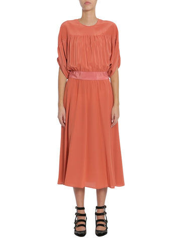 Red Valentino Batwing Sleeve Dress