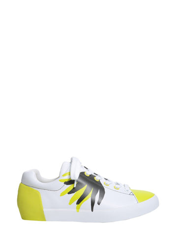Ash Nikky Pattern Lace-Up Sneakers
