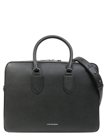 Alexander McQueen Round Handle Laptop Briefcase