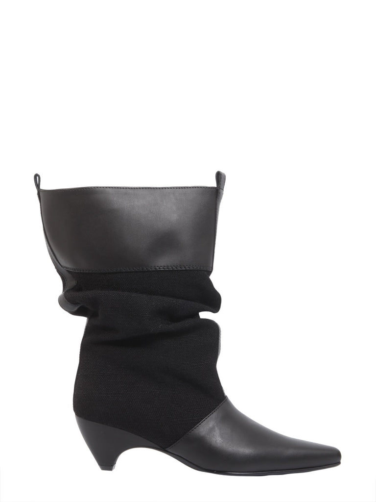 2a1b6867963 Stella McCartney Faux Leather Slouch Boots – Cettire