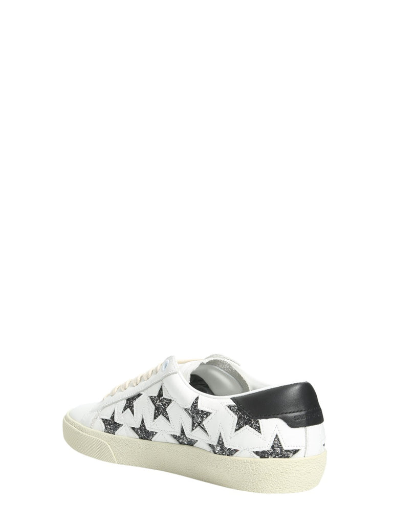 63a3774f784 Saint Laurent Stars Lace-Up Sneakers – Cettire